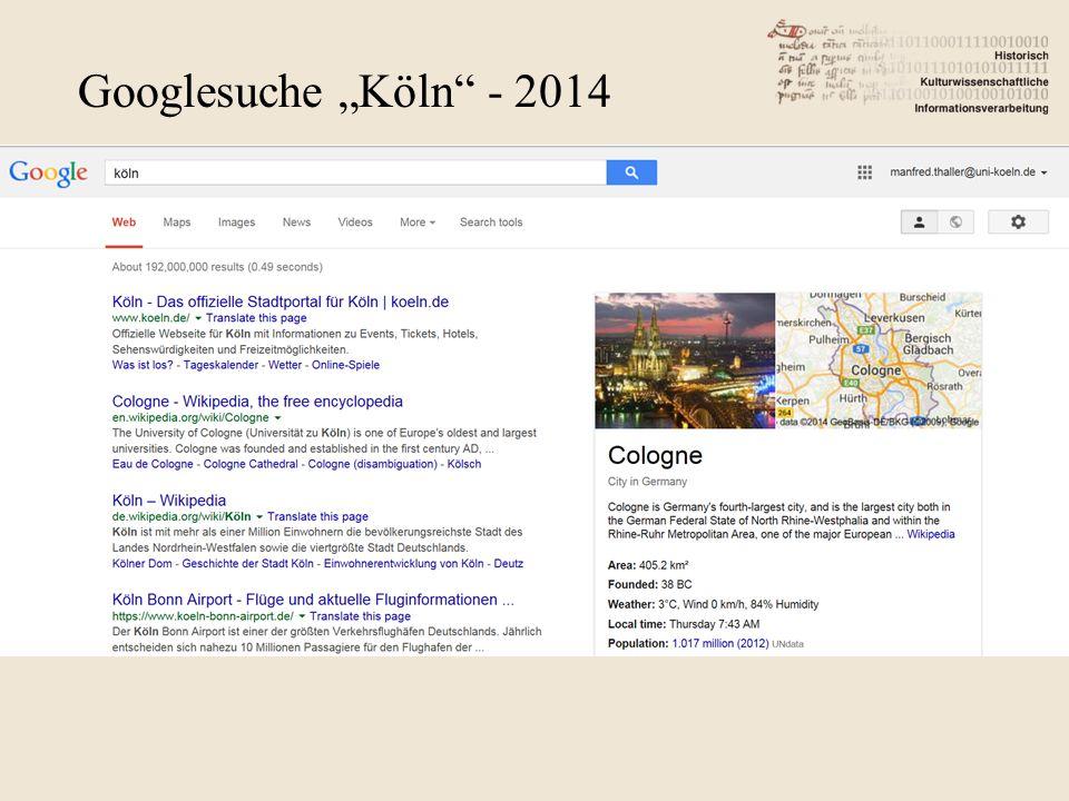"Googlesuche ""Köln - 2014"