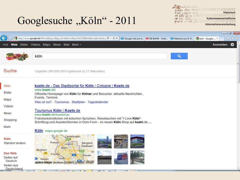 "Googlesuche ""Köln - 2011"