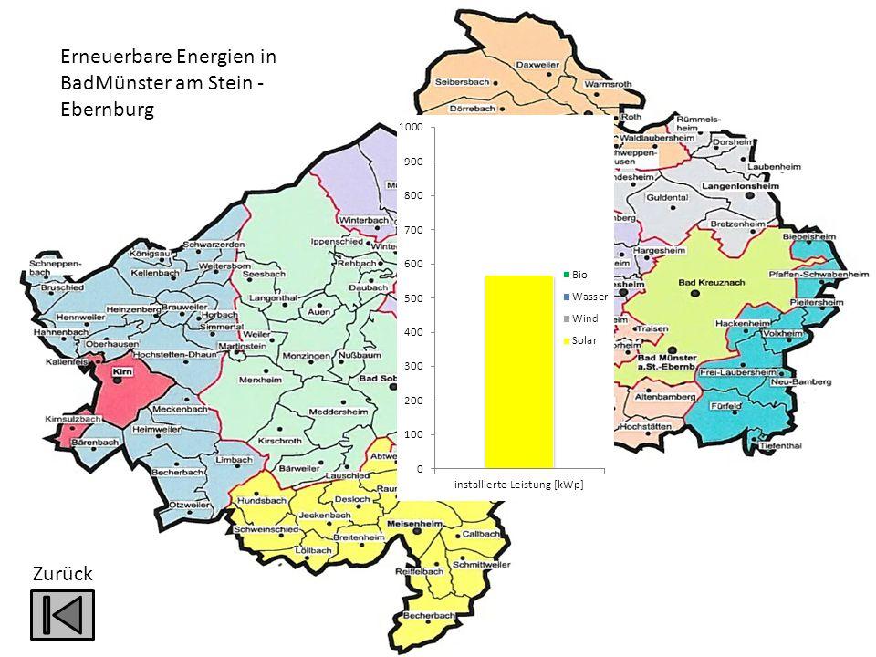 Zurück Erneuerbare Energien in BadMünster am Stein - Ebernburg