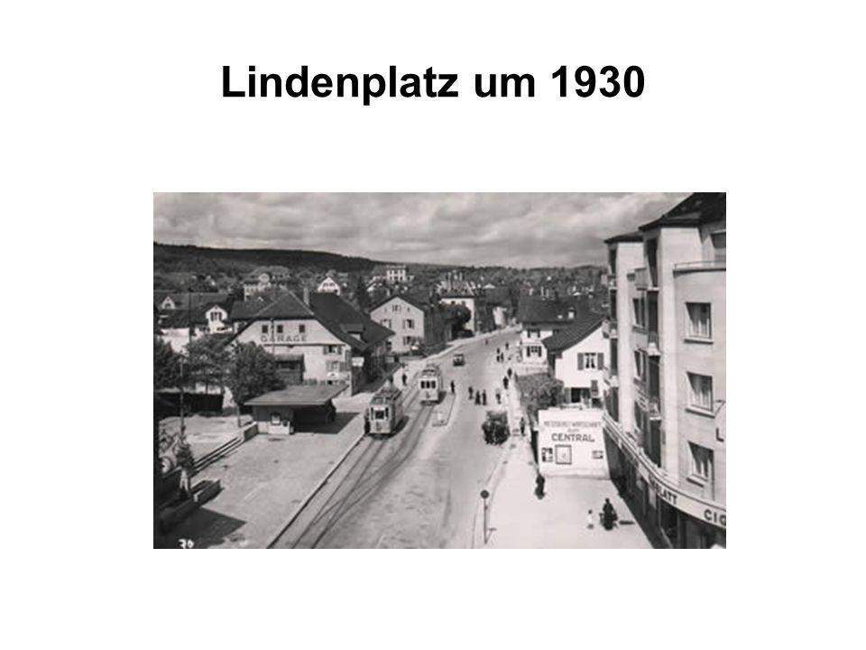 Lindenplatz um 1930