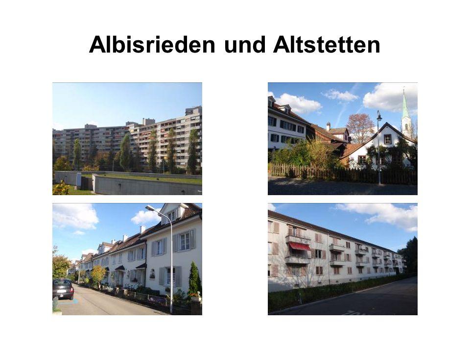 Albisrieden und Altstetten