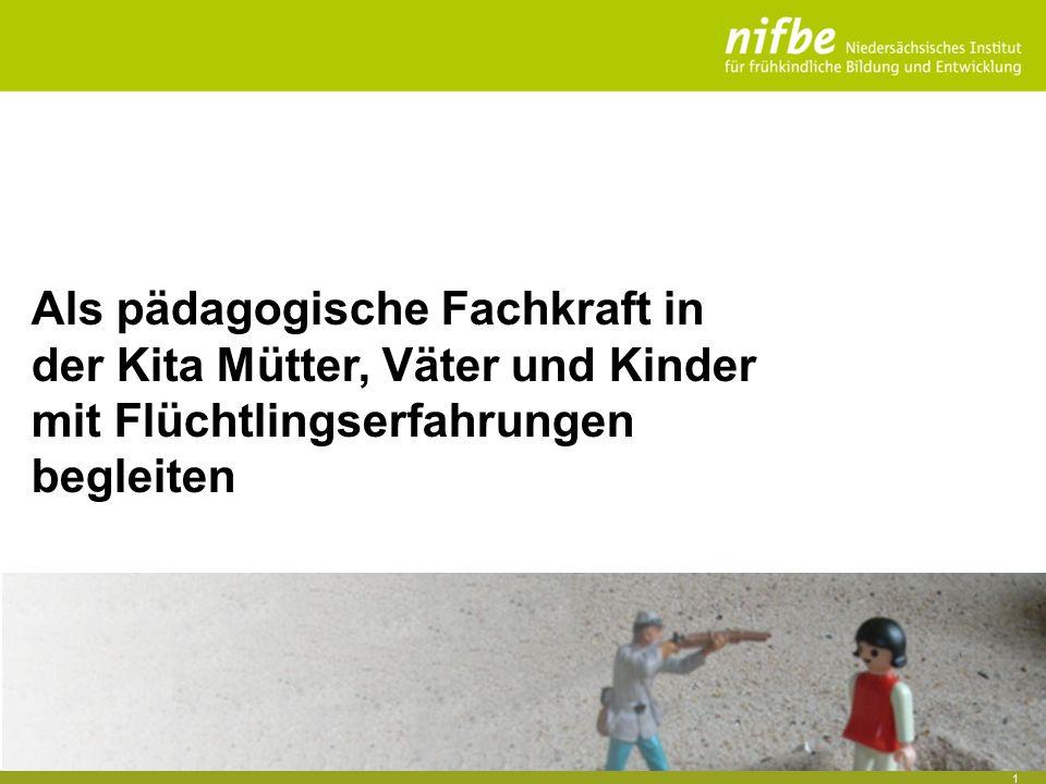 1 Als pädagogische Fachkraft in der Kita Mütter, Väter und Kinder mit Flüchtlingserfahrungen begleiten
