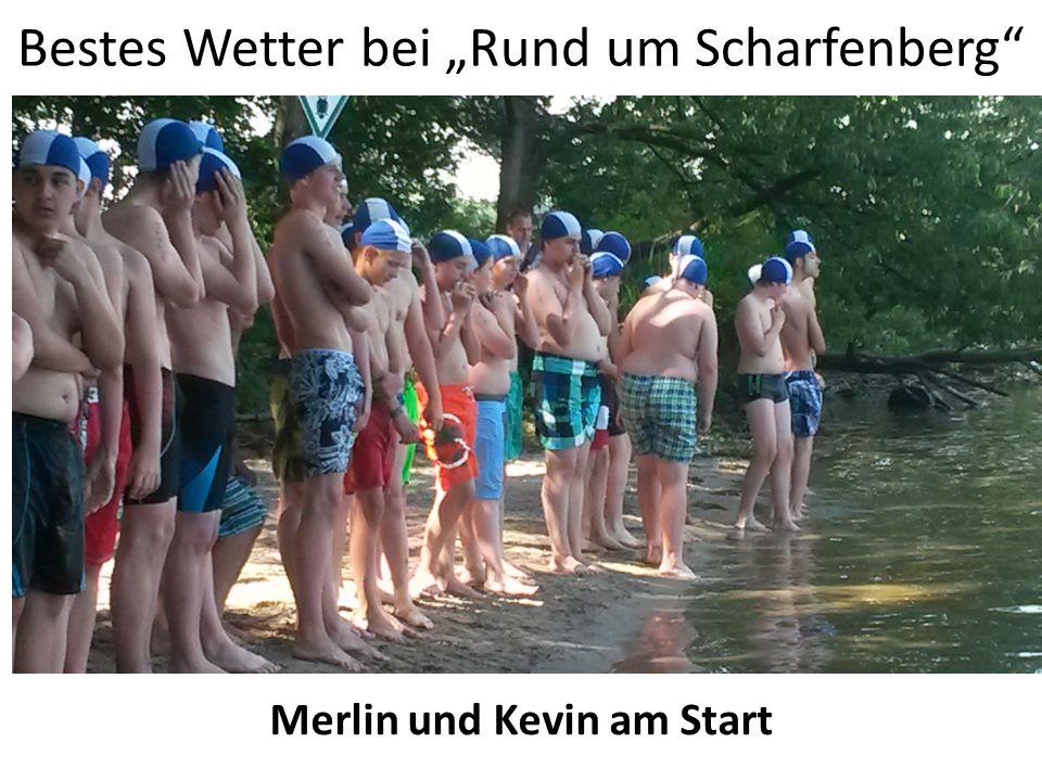 """Bestes Wetter bei """"Rund um Scharfenberg"""" Merlin und Kevin am Start"""