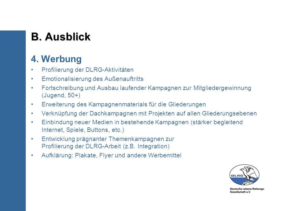 B. Ausblick 4.