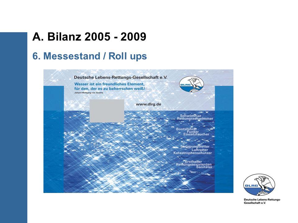 A.Bilanz 2005 - 2009 7. Fazit Die Kommunikation hat sich sehr gut entwickelt.