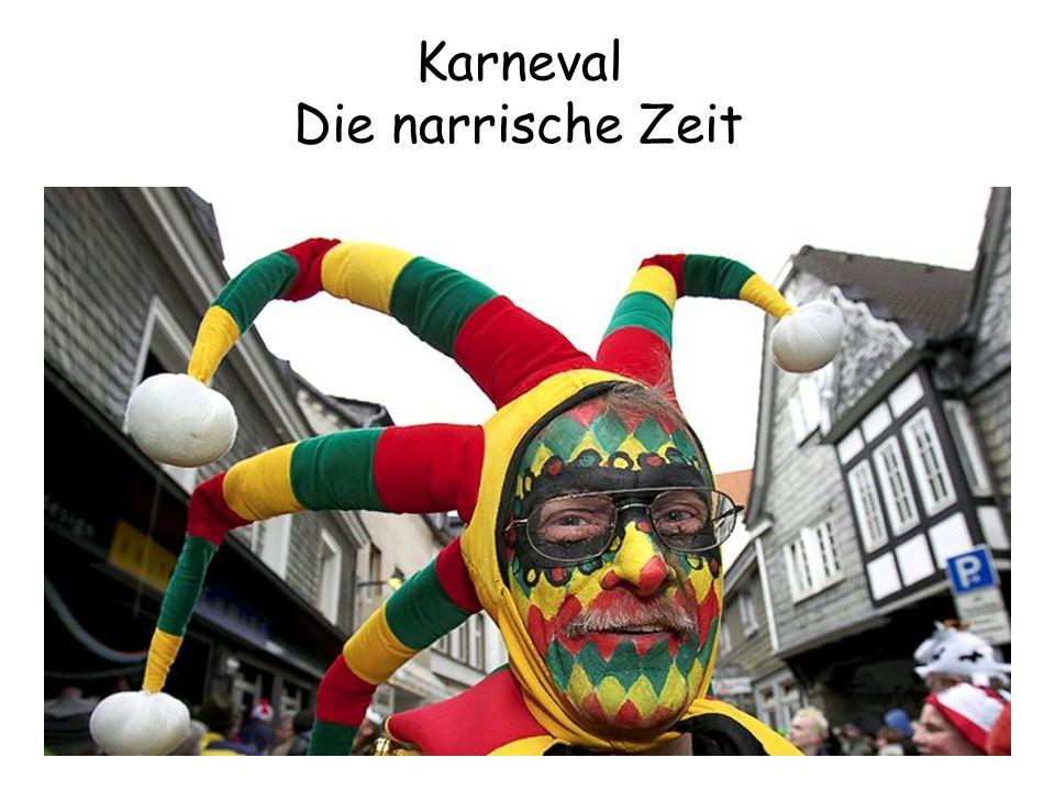 Karneval Die narrische Zeit