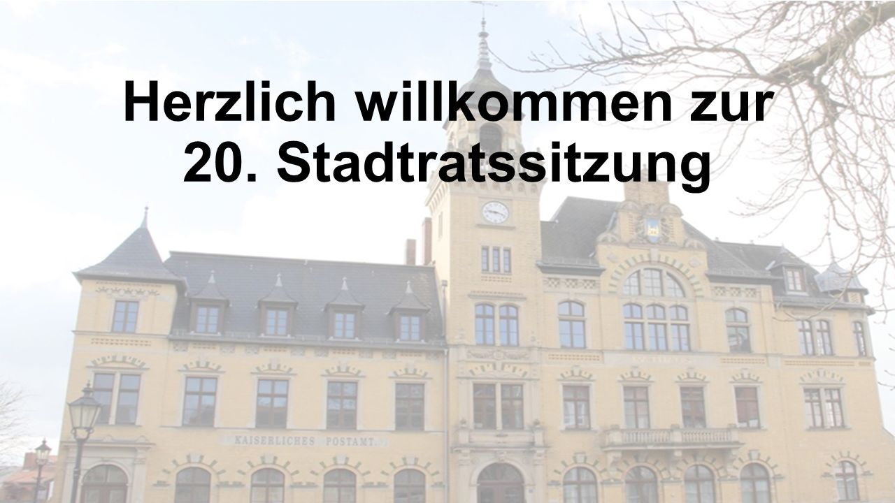 10. Diskussion und Beschlussfassung zur 1. Änderungssatzung der Hauptsatzung der Stadt Bad Lausick