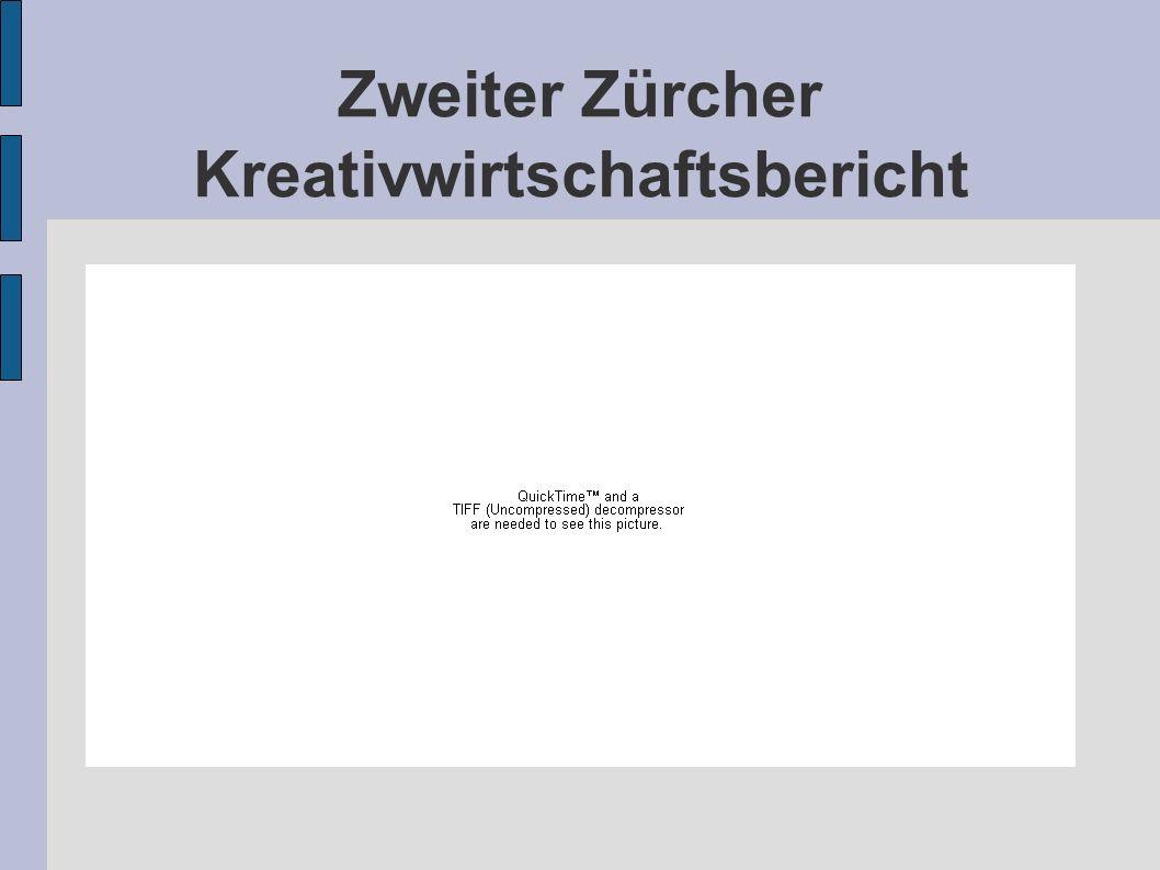 Zweiter Zürcher Kreativwirtschaftsbericht