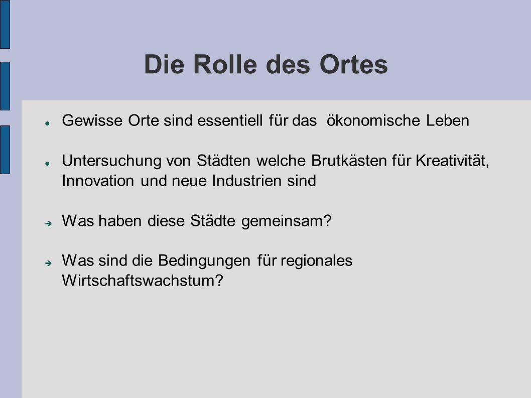 """Geographie der Kreativwirtschaft Stadt Zürich: Ausgeglichener """"Branchenmix -> Dienstleistungsplattform Vor allem Kleinunternehmen"""
