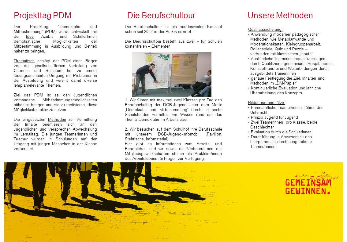 Die Anmeldung Jana Höntzsch Jugendbildungsreferentin DGB-Region Stuttgart Willi-Bleicher-Str.