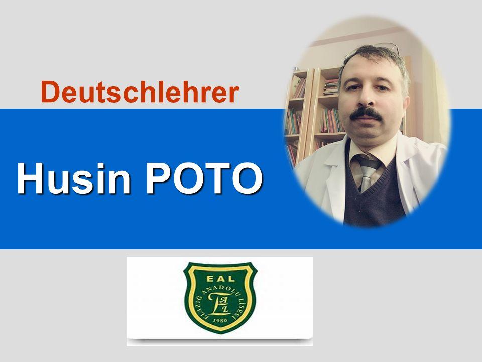 Husin POTO Deutschlehrer