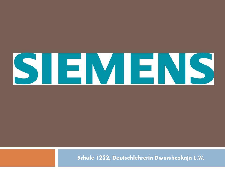 Wer hat SIEMENS gegründet.