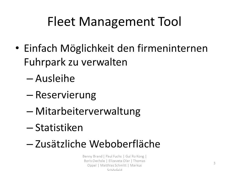Fleet Management Tool Einfach Möglichkeit den firmeninternen Fuhrpark zu verwalten – Ausleihe – Reservierung – Mitarbeiterverwaltung – Statistiken – Z