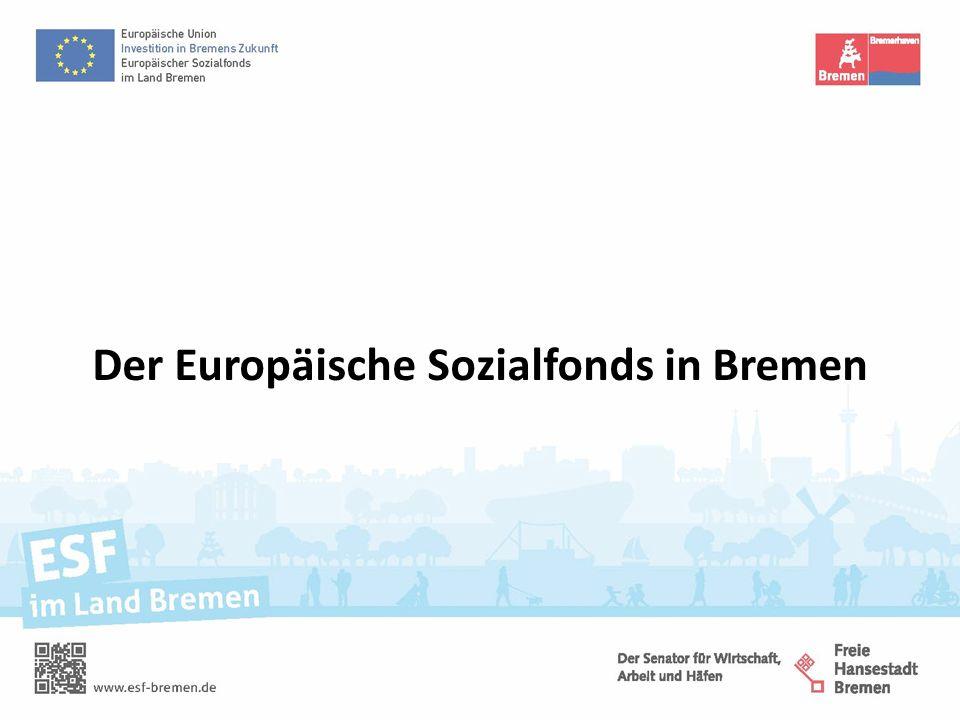 Der Europäische Sozialfonds in Bremen