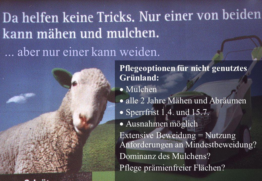 Osterburg, Reiter 02-2005 Gliederung Darstellung wichtiger Reformelemente Vergabe und Aktivierung von ZA Rolle der Agrar- umweltmaßnahmen Diskussion A