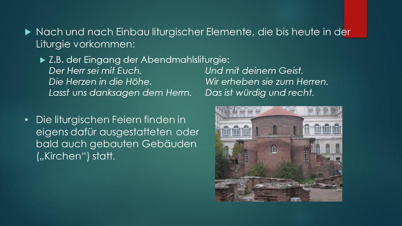 Der Gottesdienst der (westlichen) Alten Kirche ab dem 4.