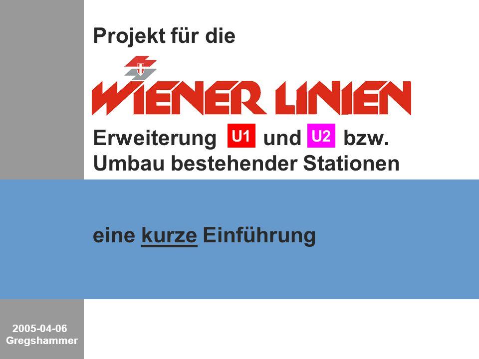 2/26 Industrial Solutions and Services Key-Visual 2005-04-06 Gregshammer Das Netz der Wiener -Bahn R R Übersichtskarte