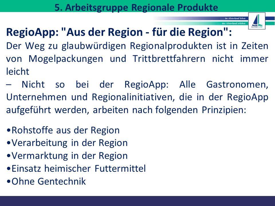 RegioApp: