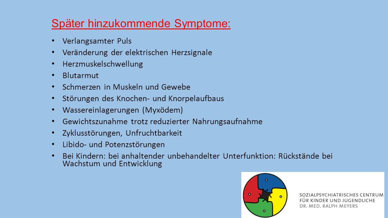 Ursachen der Hypothyreose Die häufigste Ursache der erworbenen Schilddrüsenunterfunktion ist die Schilddrüsenentzündung (Hashimoto-Thyreoiditis), eine Autoimmunerkrankung.
