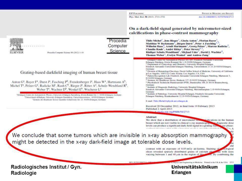 Radiologisches Institut / Gyn. Radiologie