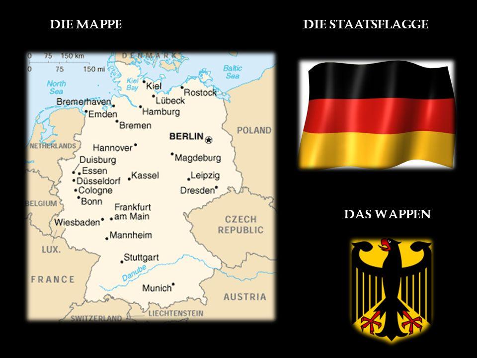 die Staatsflagge Das Wappen Die Mappe