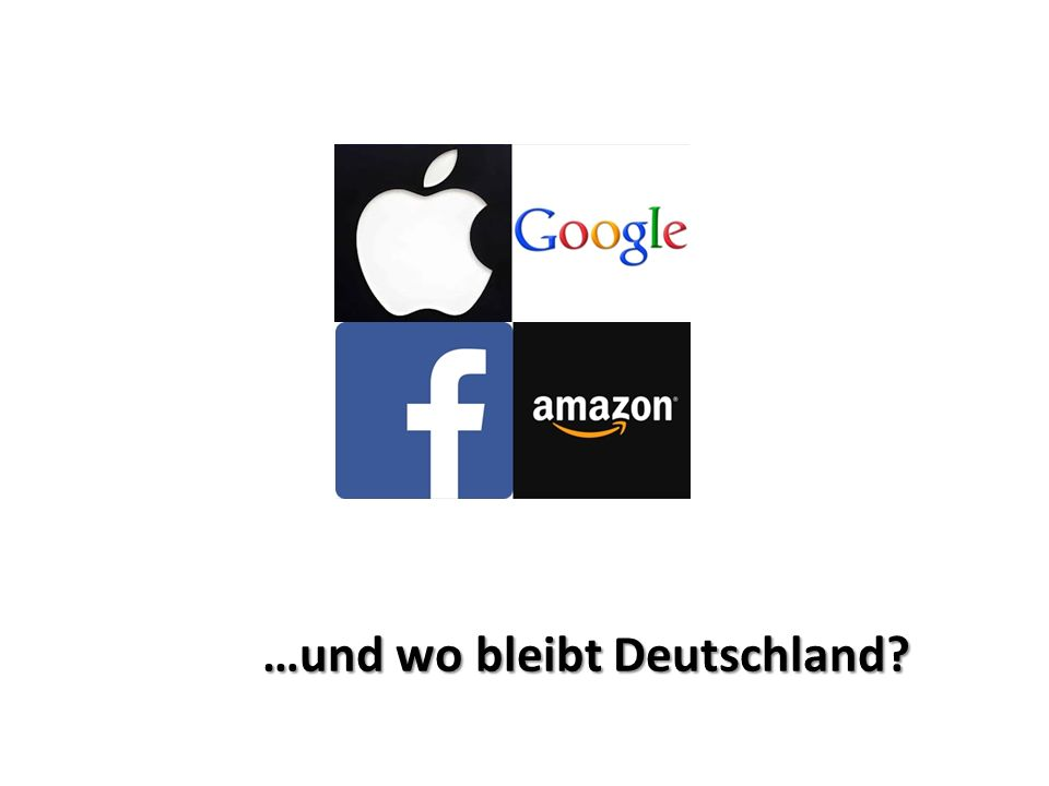 …und wo bleibt Deutschland?