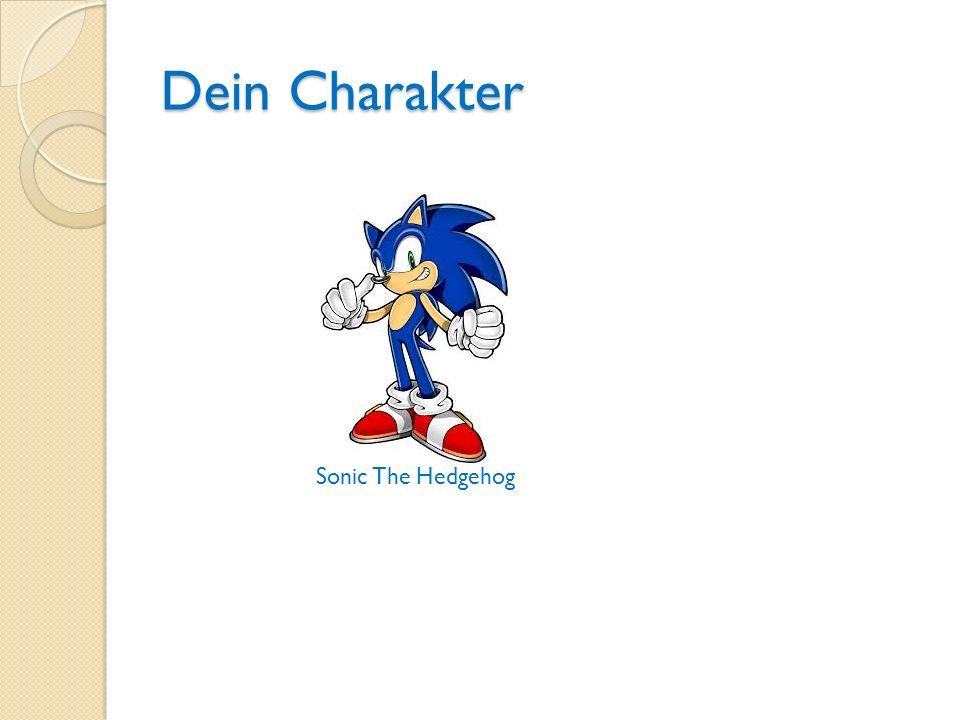 Dein Charakter Sonic The Hedgehog