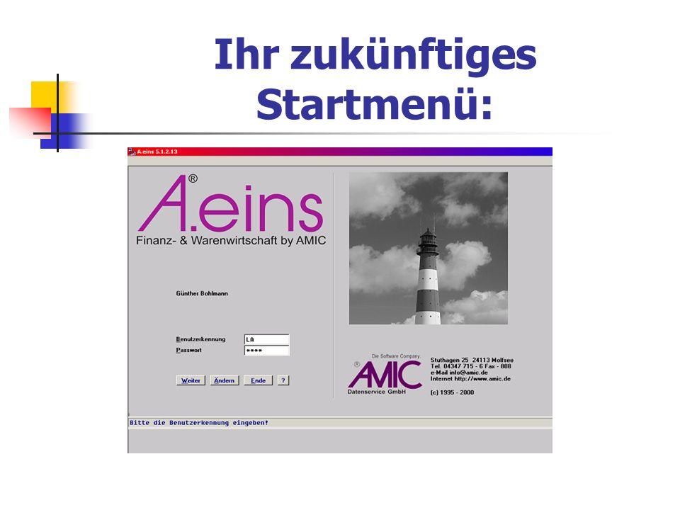 AMIC - Software vorgestellt von......... Bohlmann Datenservice Syke Tel. 0 42 42 - 93 30 03 Fax 93 30 04 oder Handy 0170 – 45 31 887