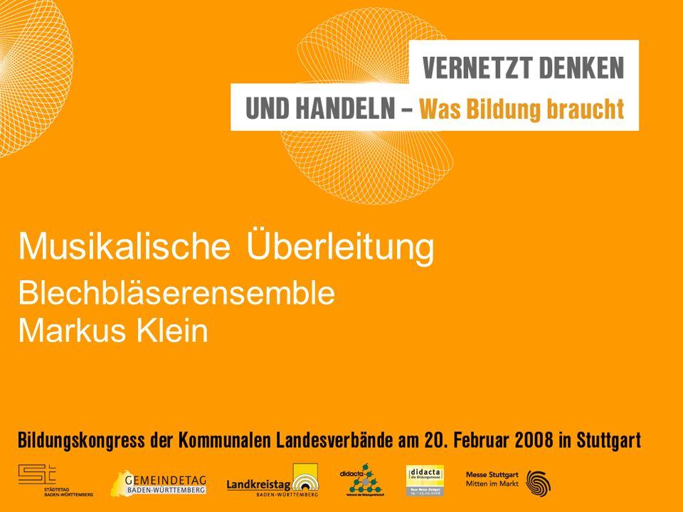 Blechbläserensemble Markus Klein Musikalische Überleitung