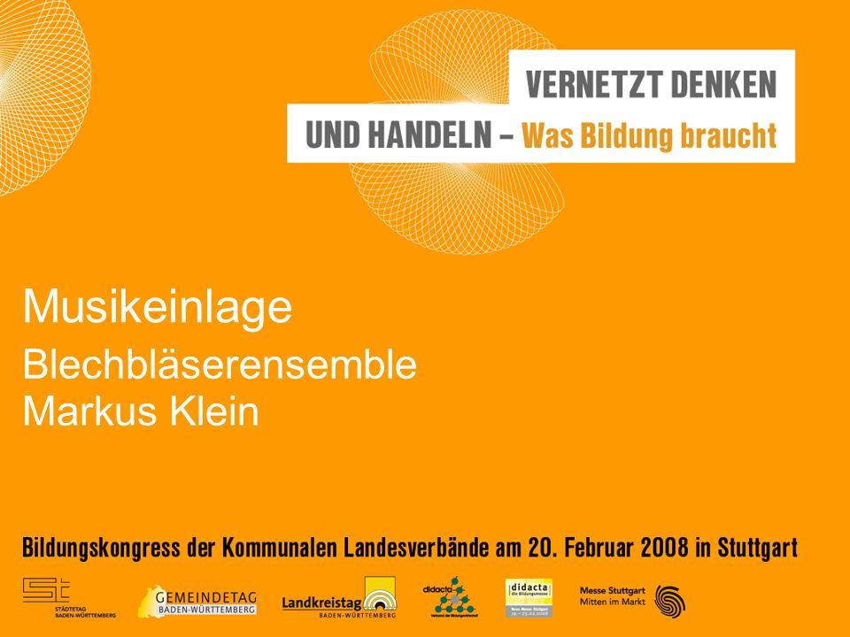 Blechbläserensemble Markus Klein Musikeinlage