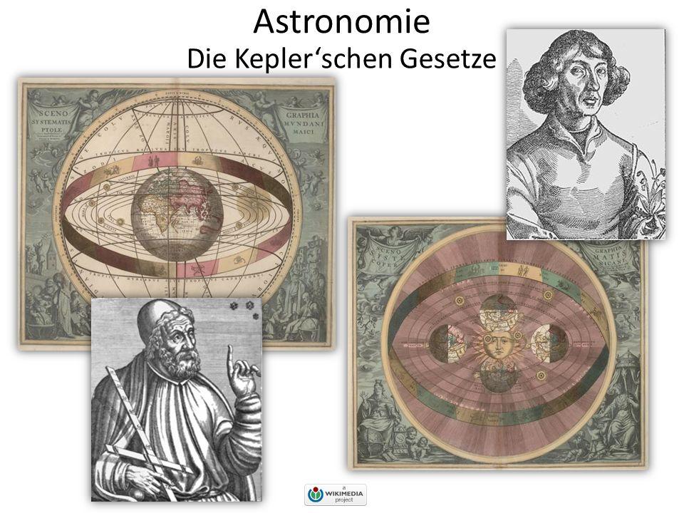 Astronomie Die Kepler'schen Gesetze Kreisbahnen