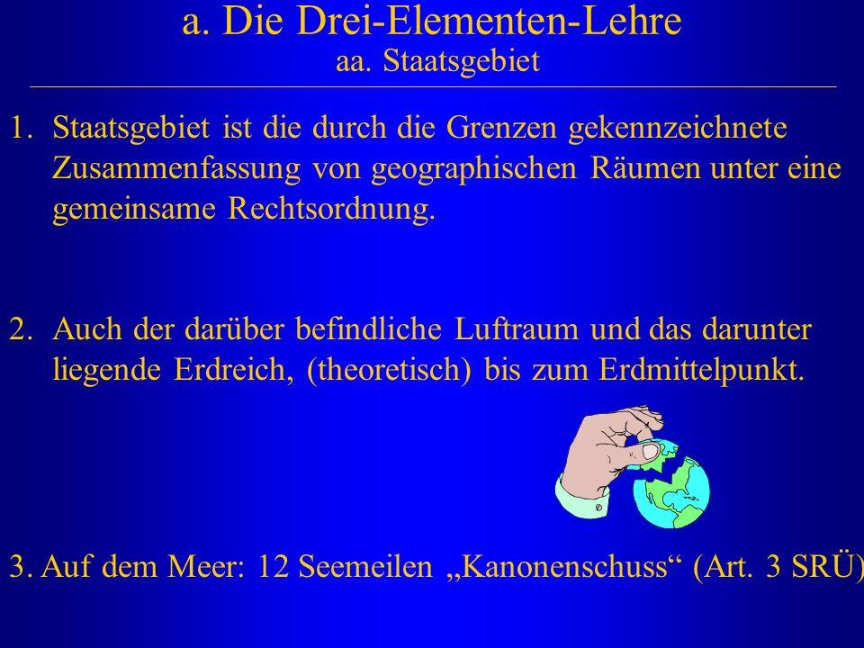 a.Die Drei-Elementen-Lehre aa.