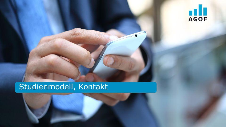Studienmodell, Kontakt
