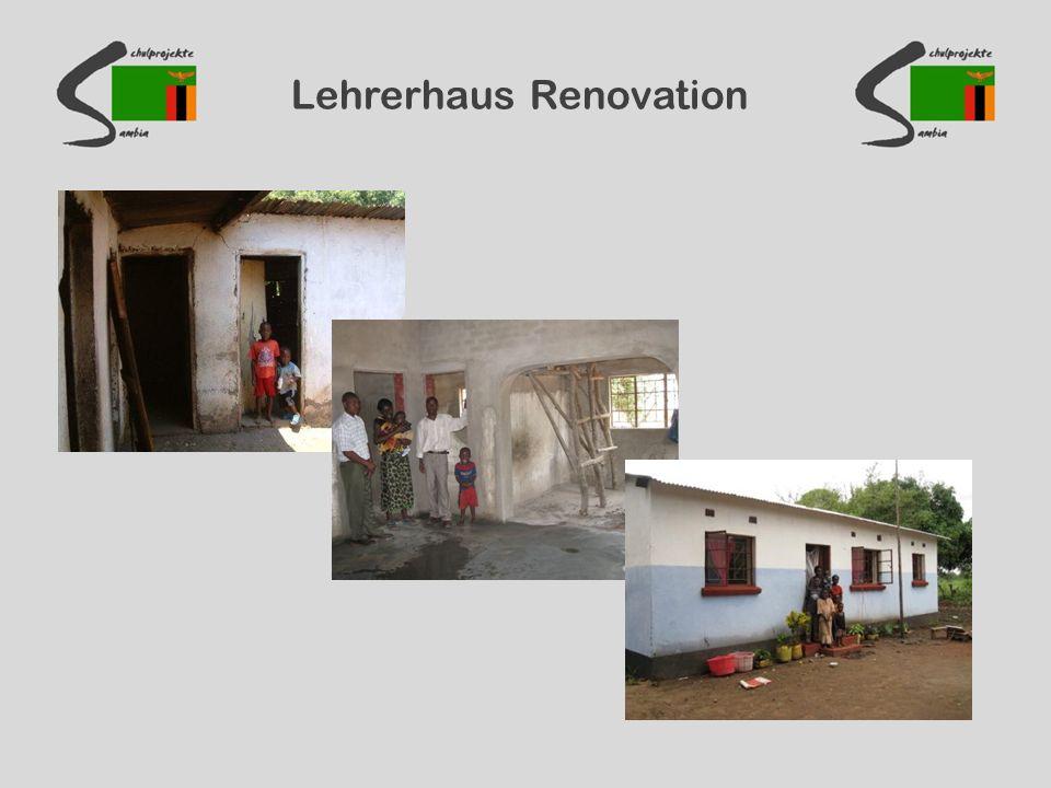 Lehrerhaus Renovation
