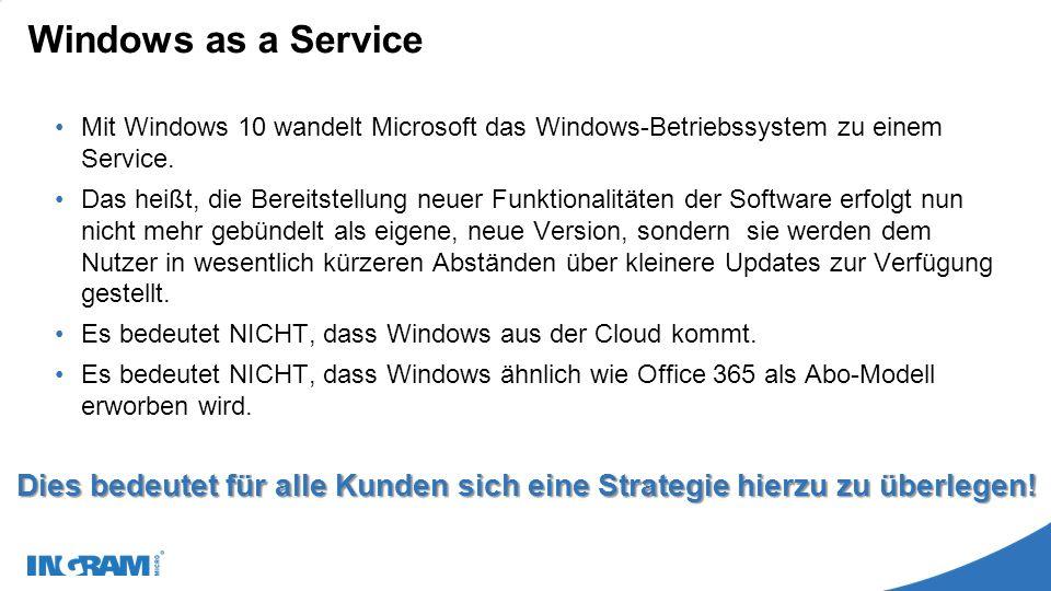 Windows Update – Windows as a Service