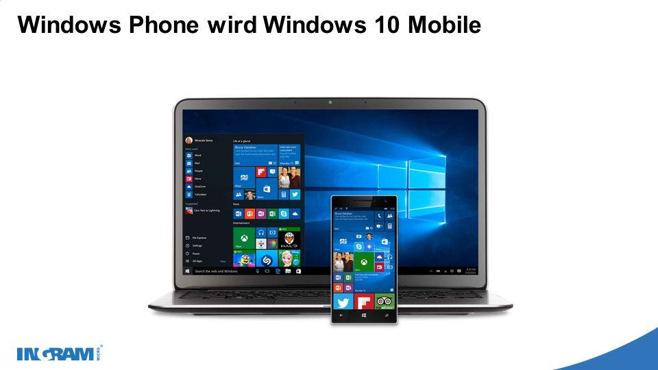 Windows 10 – Was ist neu für den User.Das Startmenü ist wieder da.