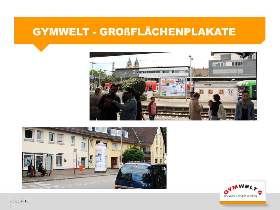 03.03.2016 9 GYMWELT - GROßFLÄCHENPLAKATE