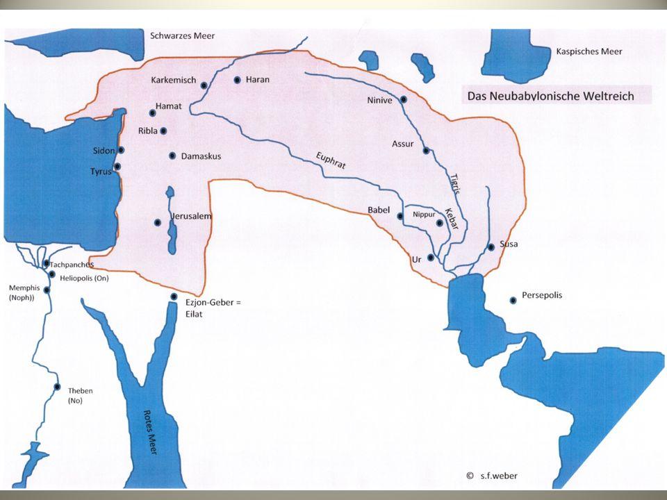 Die prächtige Seehafenstadt Tyrus - immer das Beste Tyrus - Hesekiel 26-28_sfweber 3 Hiram I.