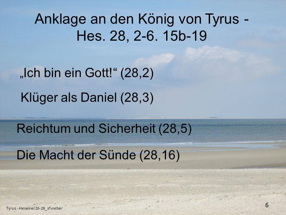 Das Gericht über den Engel Gottes - Hes.