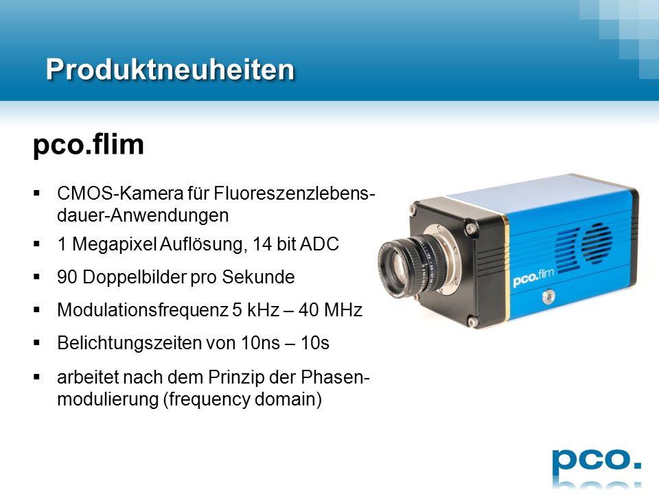 ProduktneuheitenProduktneuheiten pco.dimax CS  kompakte CMOS Highspeed-Kamera  4 Megapixel Auflösung @ 1100 fps  crashfest bis 150 G für > 11 ms 
