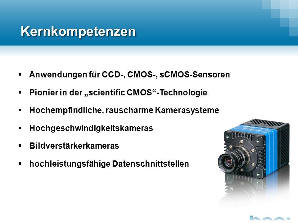 Entwicklung und Produktion am deutschen Standort  29 Jahre Erfahrung in der Entwicklung und Produktion hochwertiger Kameras und Zubehörkomponenten  über 90 Mitarbeiter an drei Standorten  breites Vertriebsnetzwerk mit mehr als 40 Vertriebspartnern weltweit  Fertigung von über 5.500 Kameras im Jahr