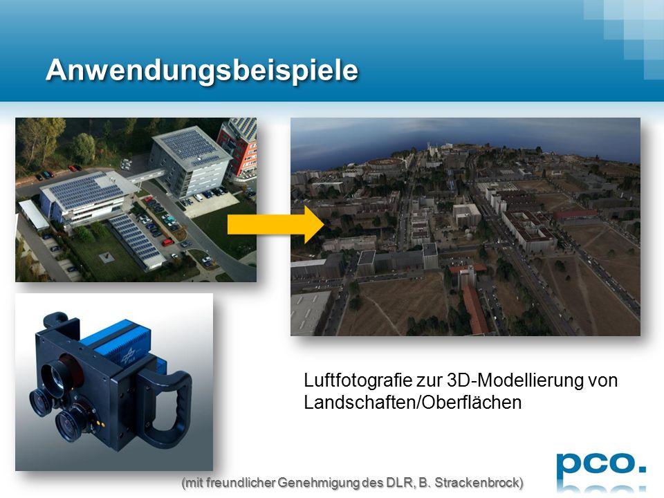 AnwendungsbeispieleAnwendungsbeispiele Strömungsmessungen (PIV) an div. Objekten (courtesy of ILA GmbH)