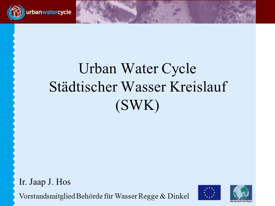 Urban Water Cycle Städtischer Wasser Kreislauf (SWK) Ir.