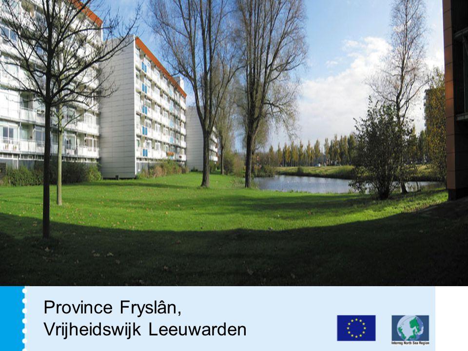 Province Fryslân, Vrijheidswijk Leeuwarden