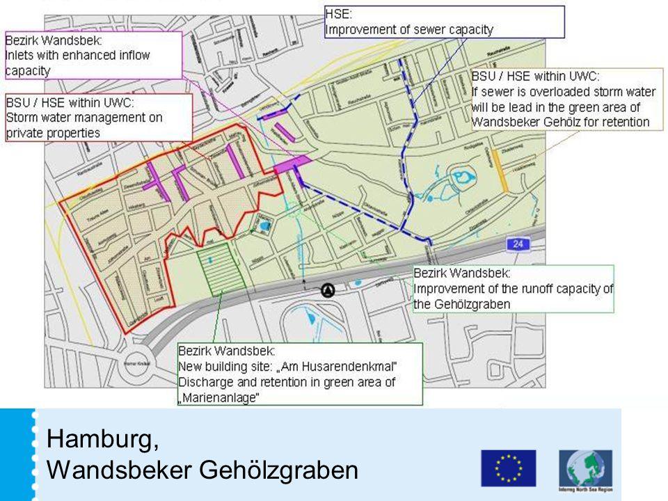 Hamburg, Wandsbeker Gehölzgraben