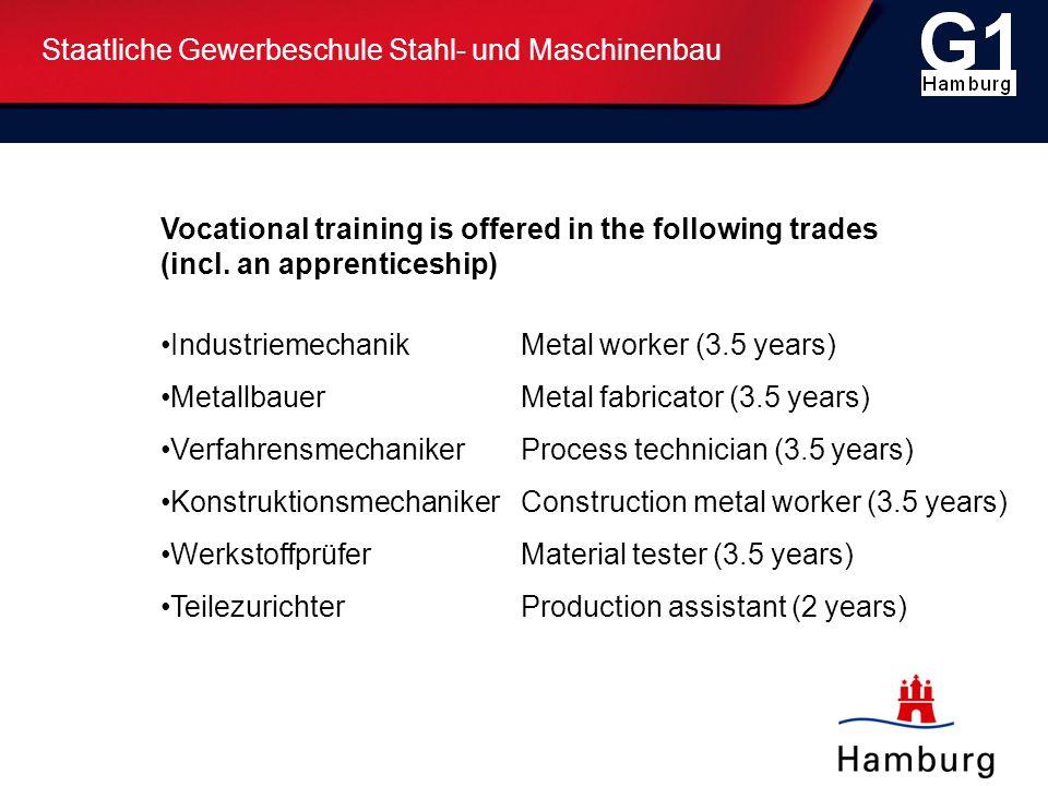 Staatliche Gewerbeschule Stahl- und Maschinenbau