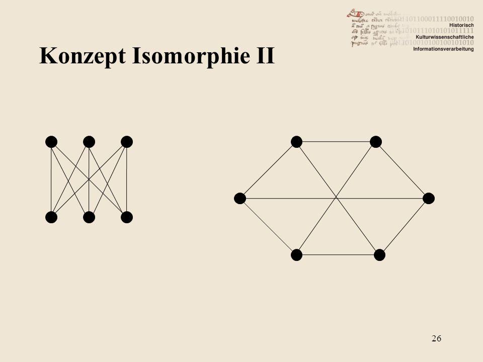 Konzept Isomorphie II 26
