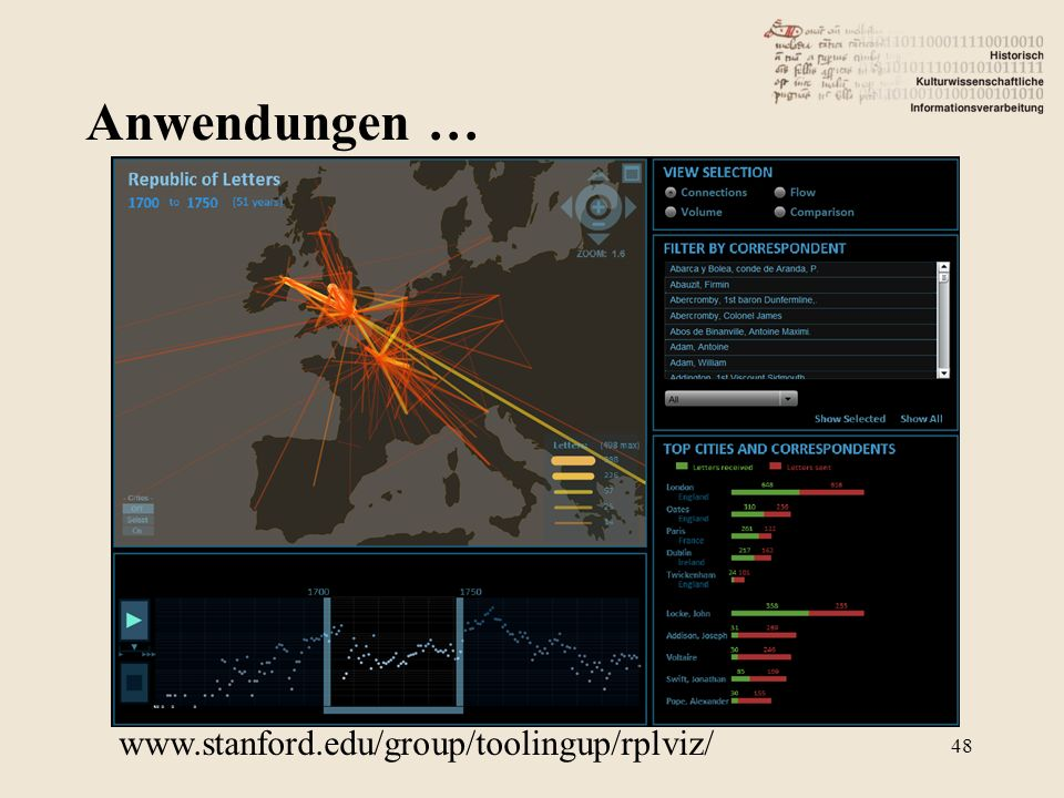 Anwendungen … 48 www.stanford.edu/group/toolingup/rplviz/‎