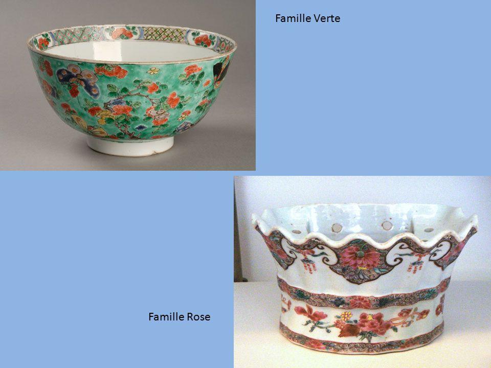 Famille Verte Famille Rose