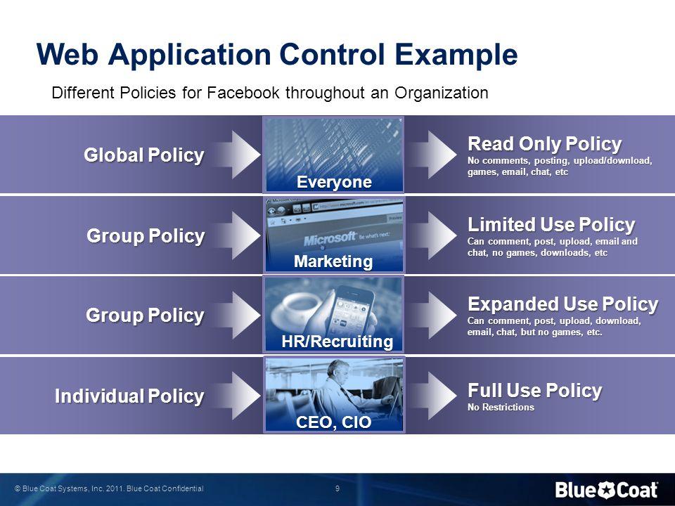 40 © Blue Coat Systems, Inc. 2011. Blue Coat Confidential 5.) SSL Interception